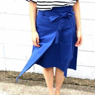 スカート アシメトリ ラップ スカート