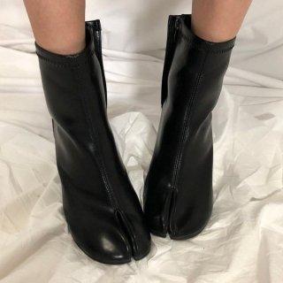 ブーツ 足袋ブーツ タビ ショートブーツ ミドルブーツ レザー