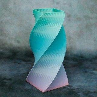 【一点物】 「003」 幾何学模様のグラデーション 箸立て&花瓶風