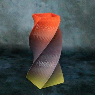 【一点物】 「004」 幾何学模様のグラデーション 箸立て&花瓶風