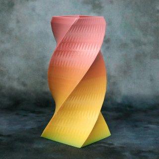 【一点物】 「005」 幾何学模様のグラデーション 箸立て&花瓶風