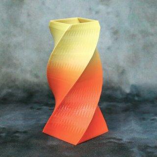 【一点物】 「006」 幾何学模様のグラデーション 箸立て&花瓶風