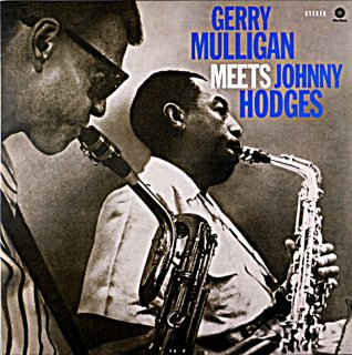 GERRY MULLIGAN MEETS JOHNNY HODGES Spanish盤