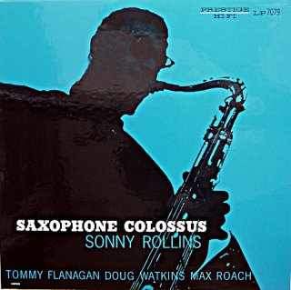 SONNY ROLLINS SAXOPHONE COLOSSUS (Analogue) US盤