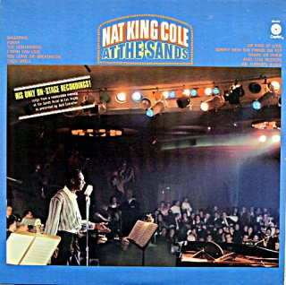 NAT KING COLE AT THE SANDS
