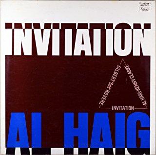 AL HAIG INVITATION AL HAIG