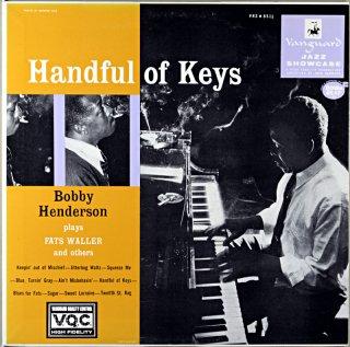 BOBBY HENDERSON HANDFUL OF KEY'S