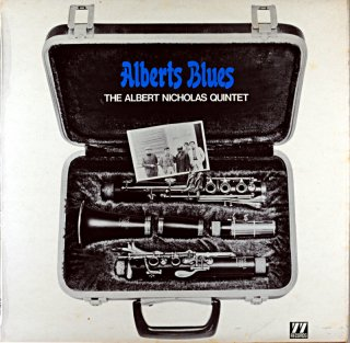 ALBERT NICHOLAS ALBERT'S BLUES Uk盤