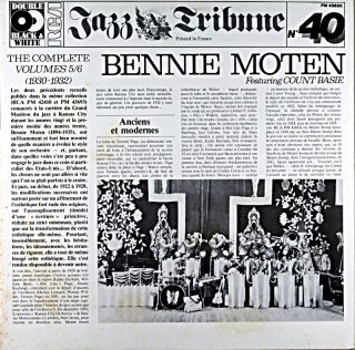 BENNIE MOTEN THE COMPLETE VOL 5 / 6 2枚組