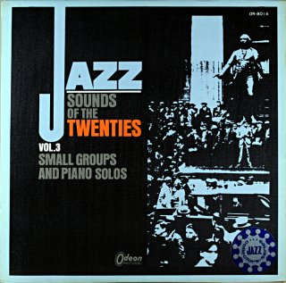 CLARENCE WILLAMS JAZZ SOUNDS OF THE TWENTIES VOL.3