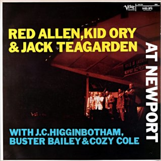 HENRY RED ALLEN ,KID ORY & JACK TEAGARDEN AT NEWPORT