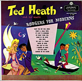 TED HEATH TED HEATH AND HIS MUSIC RODGERS FOR MODERNS Original盤