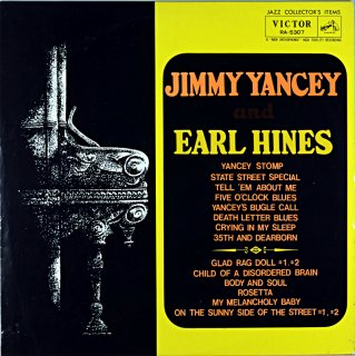 JIMMY YANCEY JIMMY YANCEY AND EARL HINES