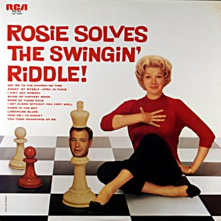ROSEMARY CLOONEY ROSIE SOLVES THE WINGIN' RIDDLE !