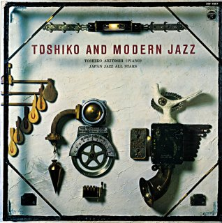 AKIYOSHI TOSHIKO AND MODARN JAZZ JAPAN JAZZ ALL STARS