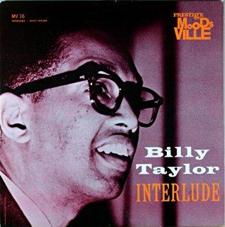 INTERLUDE - BILLY TAYLOR Original盤