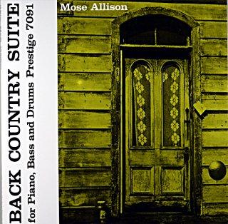 MOSE ALLISON BACK CONTRY SUITE (OJC盤)