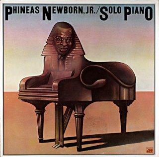 PHINEAS NEWBORN / SOLO PINANO Us盤