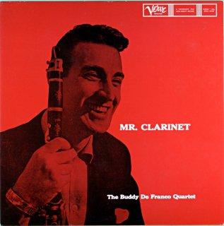 MR.CLARINET THE BUDDY DE FRANCO QUARTET