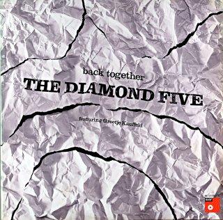 THE DIAMOND FIVE BACK TOGETHER featuring Greetje Kauffeld Germany盤