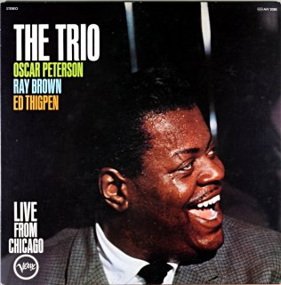THE TRIO OSCAR PETERSON LIVE FROM CHICAGO