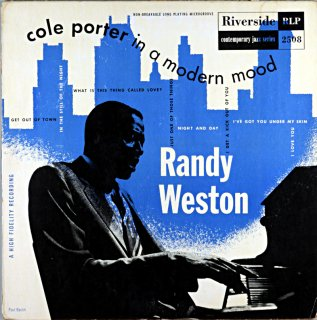 COLE PORTER IN A MODERN MOOD RANDY WESTON Original盤 10inch盤