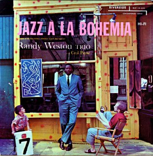 JAZZ A LA BOHEMIA RANDY WESTON TRIO Original盤