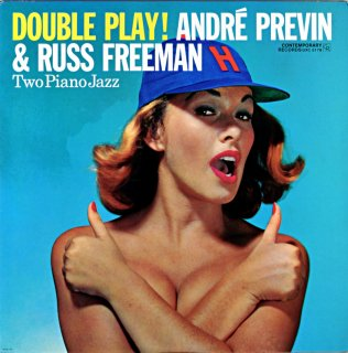DOUBLE PLAY ! ANDRE PREVIN & RUSS FREEMAN