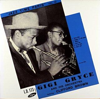 JAZZ TIME PARIS VOL.10 GIGI GRYCE - CLIFFORD BROUWN 10inch盤