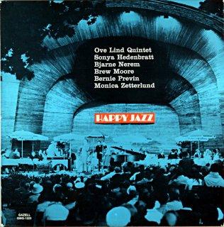 HAPPY JAZZ OVE LIND QUINTET Original盤