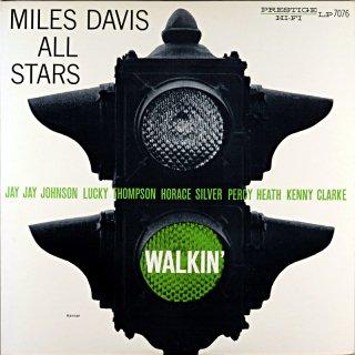 WALKIN' MILES DAVIS SEXTET & QUINTET