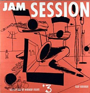 JAM SESSION #3 BUDDY DE FRANCO Original盤