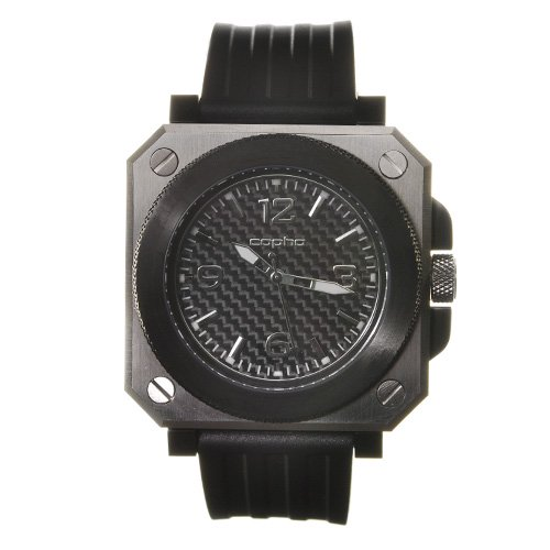 <img class='new_mark_img1' src='https://img.shop-pro.jp/img/new/icons20.gif' style='border:none;display:inline;margin:0px;padding:0px;width:auto;' />COPHA Replicant Rubber Strap Silver-Black×Black(コプハ レプリカント ラバーストラップ シルバーブラック×ブラック)