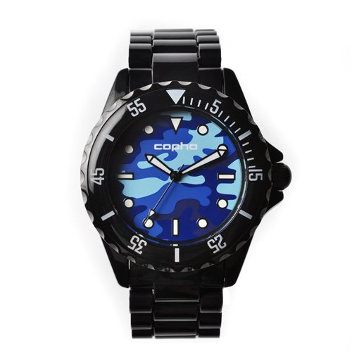 <img class='new_mark_img1' src='https://img.shop-pro.jp/img/new/icons20.gif' style='border:none;display:inline;margin:0px;padding:0px;width:auto;' />COPHA SWAGGER Black Blue-Camo(コプハ スワッガー ブラック ブルー-カモ)
