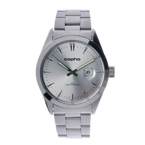 COPHA BASIC TIME 42 Steel Bracelet Silver(コプハ ベーシックタイム42 スチールブレスレット シルバー)