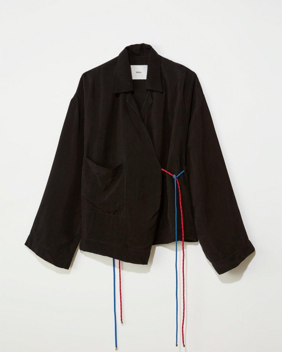 KkCo ブラックシャツジャケット - ¥33,000