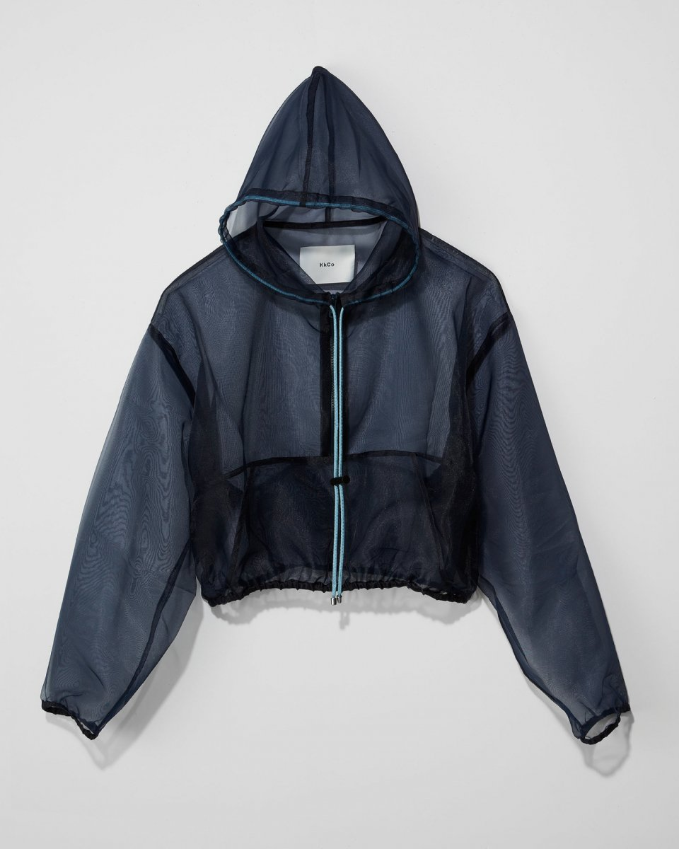 KkCo シースルーフーディ - ¥32,000