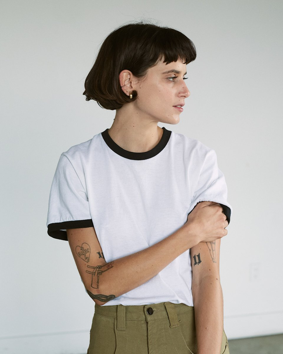 UPCYCLE リンガーTシャツ - ¥4,400