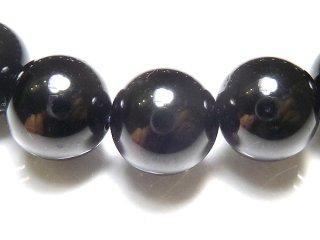 天然石 ブラックスピネル 10mm ブレスレット spi10001b