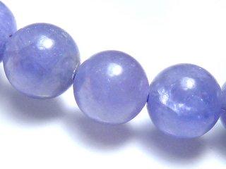 天然石 タンザナイト 7mm ブレスレット tan07001