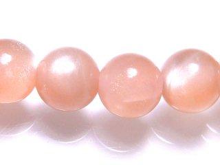 天然石 ピンクムーンストーン 6mm ブレスレット moo06001p