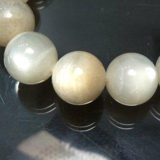 天然石 ムーンストーン 10.5-11mm ブレスレット moo11001w