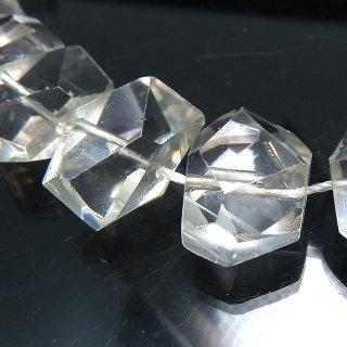 【1粒売り】 クリスタル 水晶 横長タンブルカット 11-12x14-19x9-11mm qua_tam_w_0