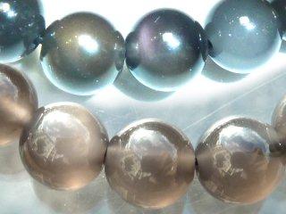 天然石 アイスオブシディアン 8mm ブレスレット obs08001i