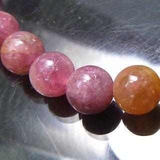 天然石 マルチカラートルマリン 7.5mm ブレスレット tou07.5001m
