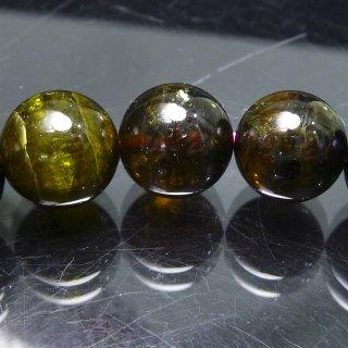 天然石 ディープカラートルマリン 9mm ブレスレット tou09001d