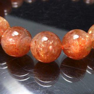 天然石 サンストーン 9mm ブレスレット sun09001