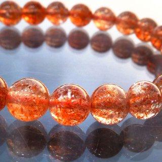 天然石 マイカサンストーン 6.5mm ブレスレット sun06.5001m