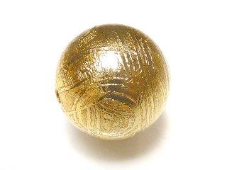【1粒売り】 ギベオン 鉄隕石 メテオライト ゴールド 10mm giv_ro_10_g