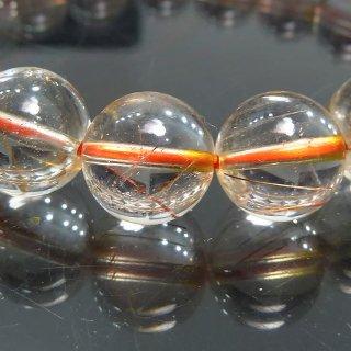 天然石 高透明度ブロンズルチルクォーツ 10mm ブレスレット rut10002